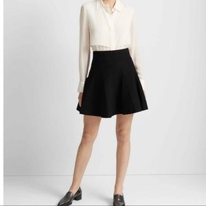 Club Monaco Carly Pleated Sweater Skirt